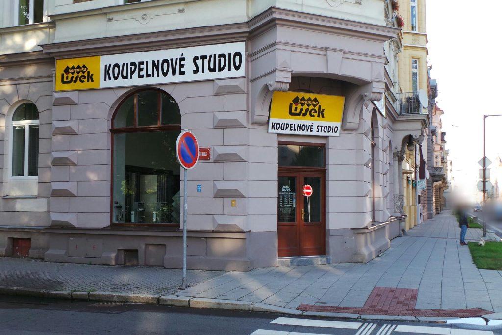 Koupelnové studio keramikalissek v Opavě